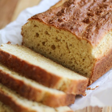 Paleo Sandwich Bread - a grain-free, gluten-free rustic sandwich bread recipe | TheRoastedRoot.net #healthy #lunch #recipe