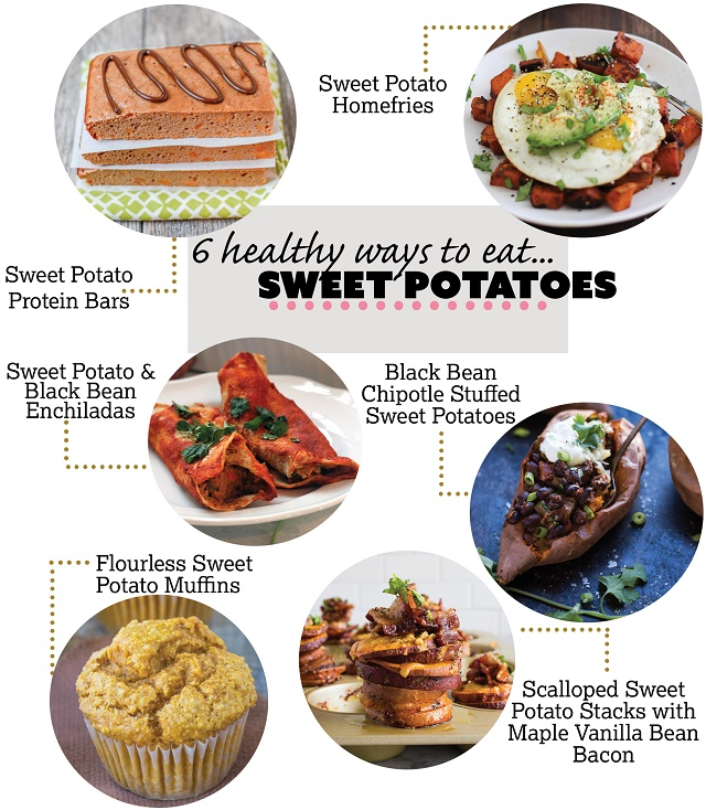 Six Healthy Ways to Eat Sweet Potatoes
