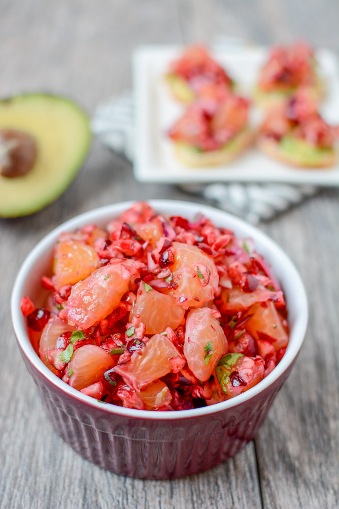 Cranberry Clementine Salsa + 5 Healthy Cranberry Recipes