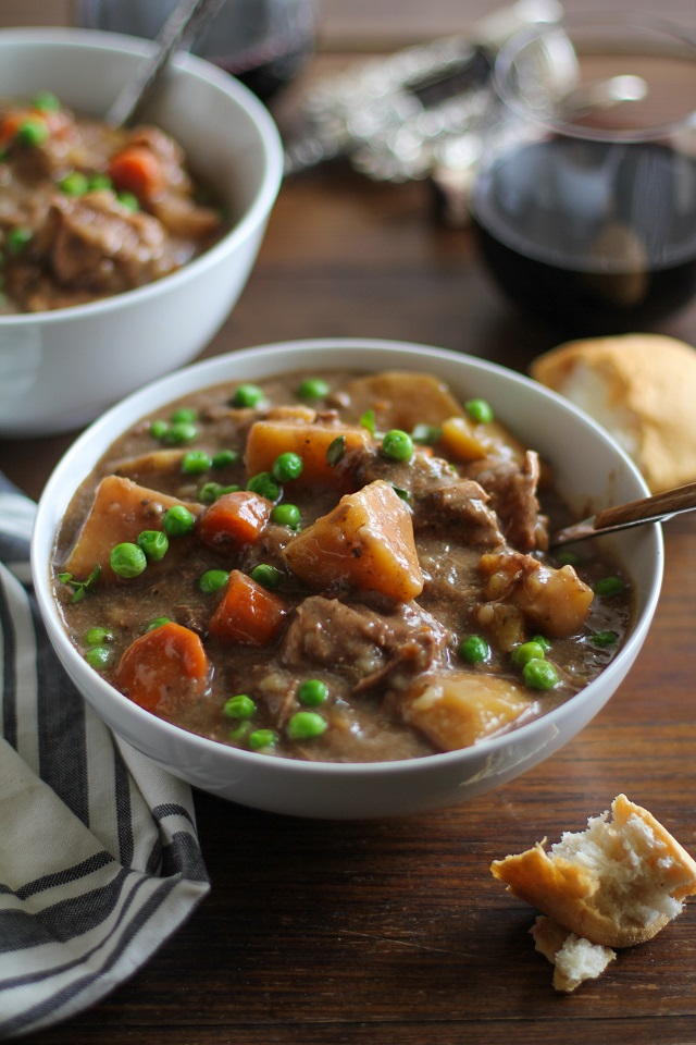 Crock Pot Beef Stew The Roasted Root