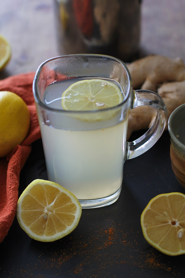 Lemon-Ginger Detox Toddy - The Roasted Root