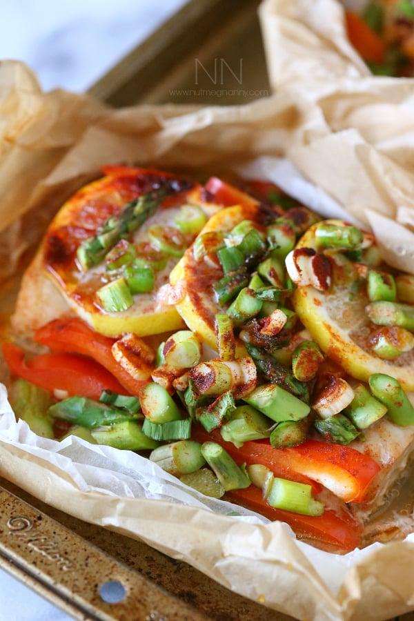 Mahi Mahi en Papillote + Whole 30 Recipes