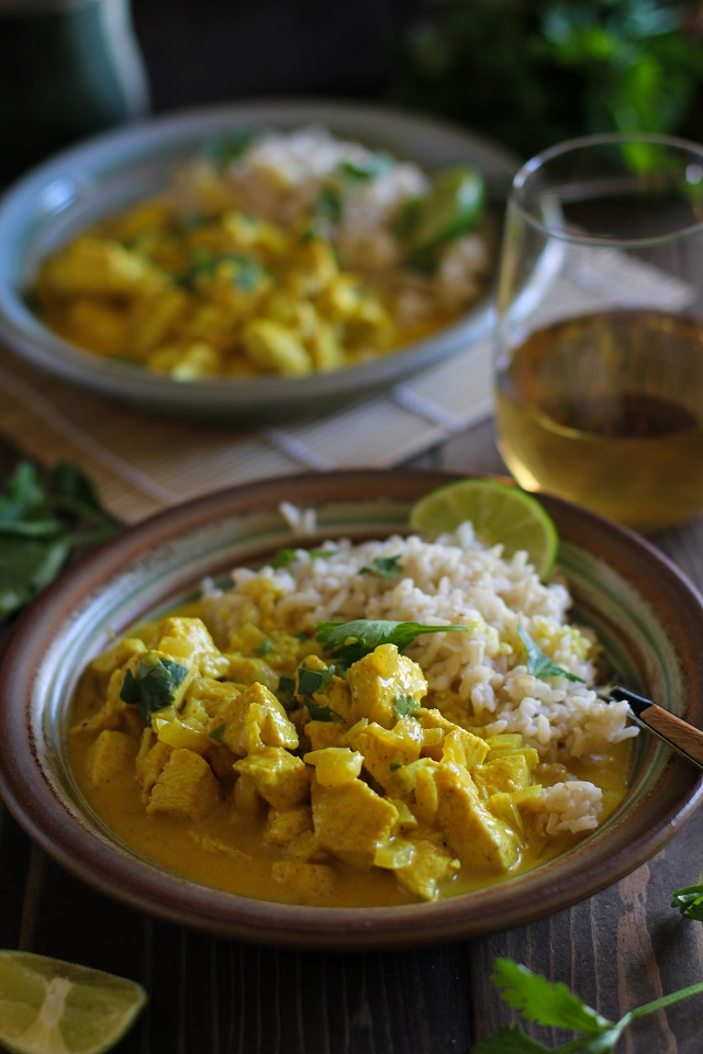 30-Minute Thai Chicken Curry | TheRoastedRoot.net #dinner #recipe #glutenfree #healthy