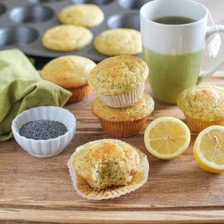 Grain-Free Lemon Poppy Seed Muffins