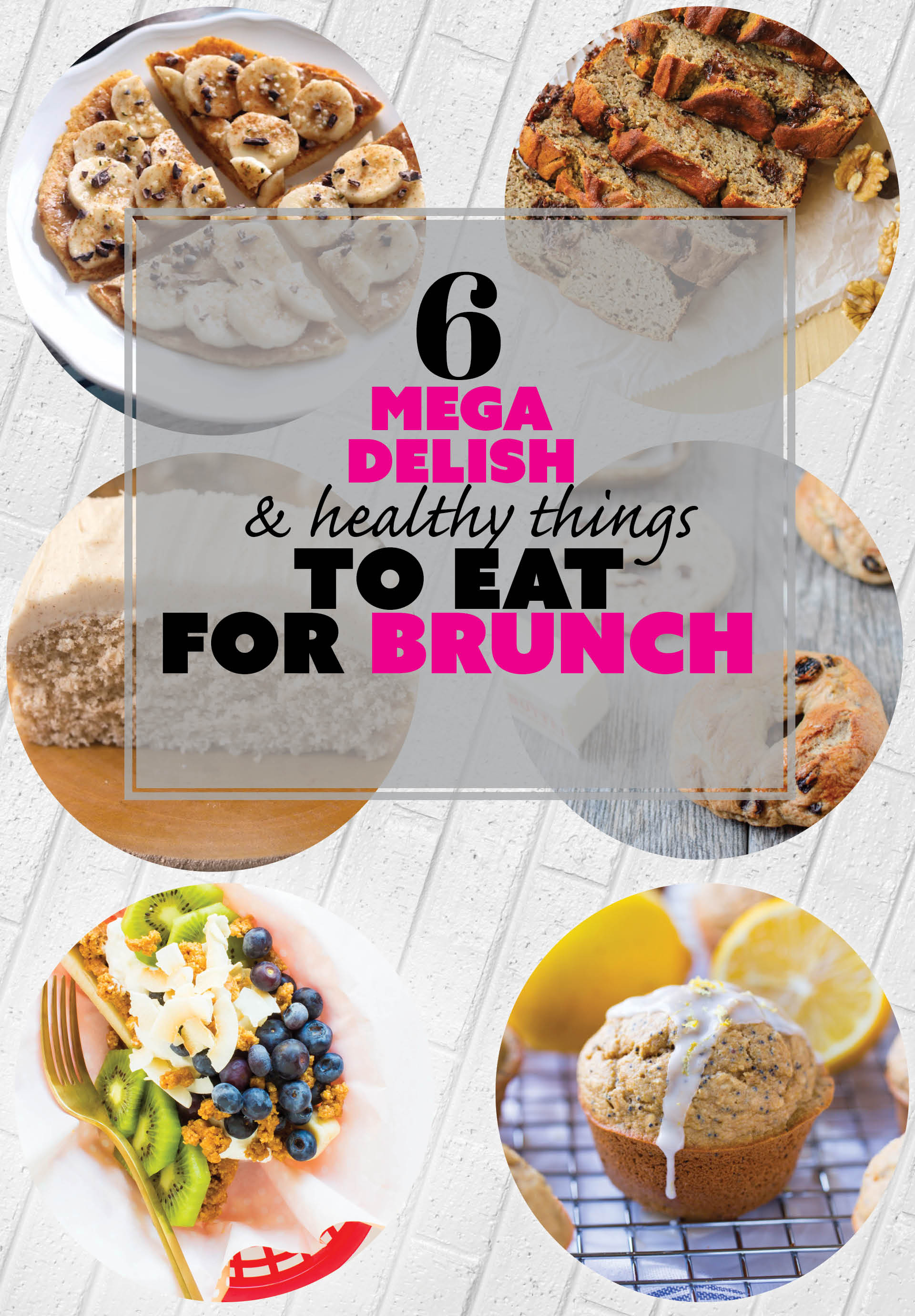 6 Healthy Brunch Recipes for all your brunching needs #easter #healthy #glutenfree #breakfast
