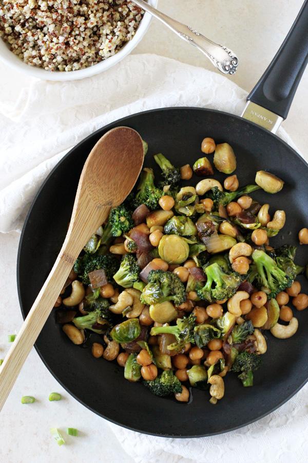 Winter Vegetable Teriyaki Stir Fry