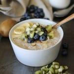 Coconut Tapioca Pudding - vegan, refined sugar-free, gluten-free   TheRoastedRoot.net #healthy #recipe #dessert #breakfast #paleo