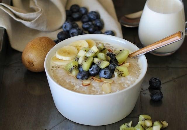 Coconut Tapioca Pudding - vegan, refined sugar-free, gluten-free | TheRoastedRoot.net #healthy #recipe #dessert #breakfast #paleo