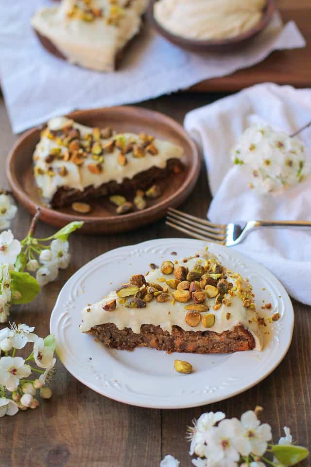 Grain Free Vegan Carrot Cake Paleo The Roasted Root