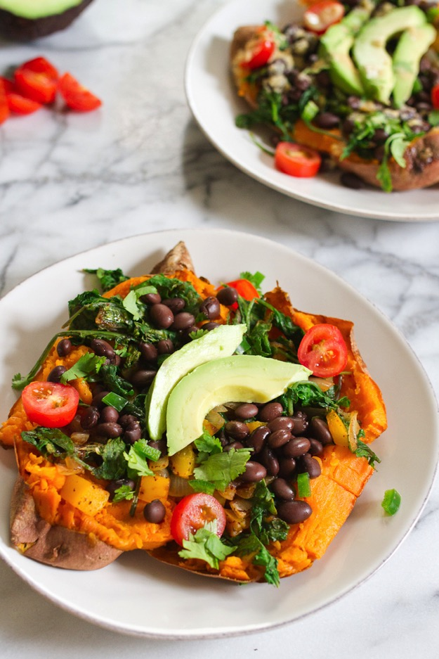 Mexicali Stuffed Sweet Potatoes + 26 Recipes for a Vegetarian Cinco de Mayo