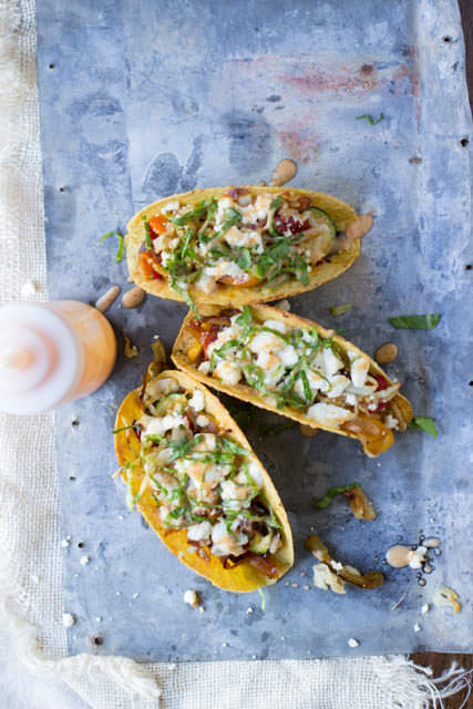 Sauteed Veggie Tacos with Spicy Crema + 26 Recipes for a Vegetarian Cinco de Mayo