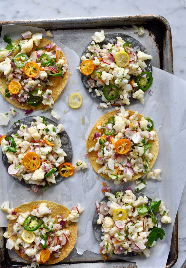 Cauliflower Ceviche Tostadas + 26 Recipes for a Vegetarian Cinco de Mayo