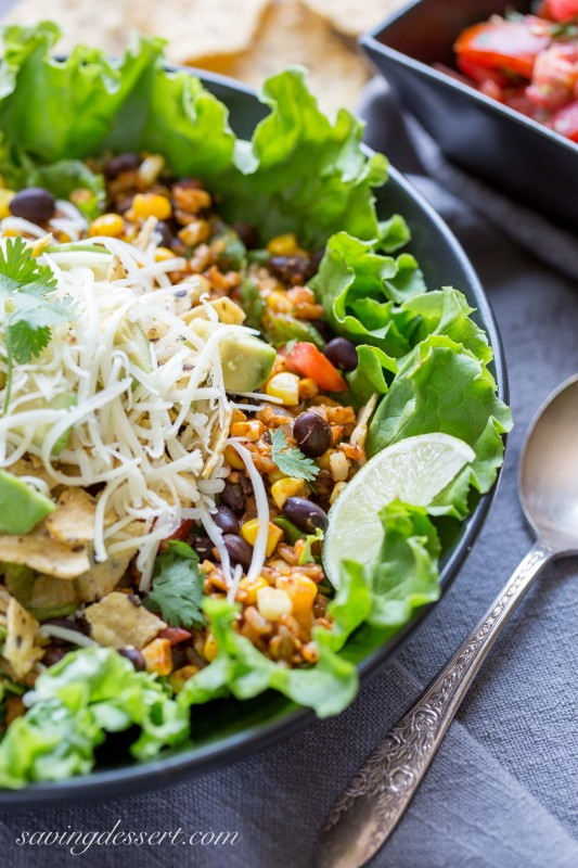 Meatless Taco Salad + 26 Recipes for a Vegetarian Cinco de Mayo