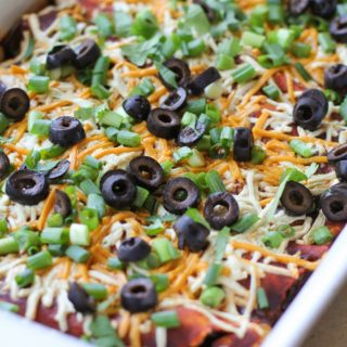Mushroom, Zucchini, and Black Bean Vegetarian Enchiladas