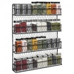 Chicken Wire Spice Rack
