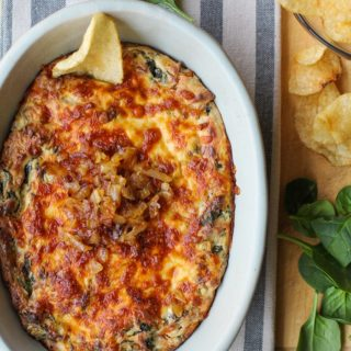 Spinach & Caramelized Onion Dip