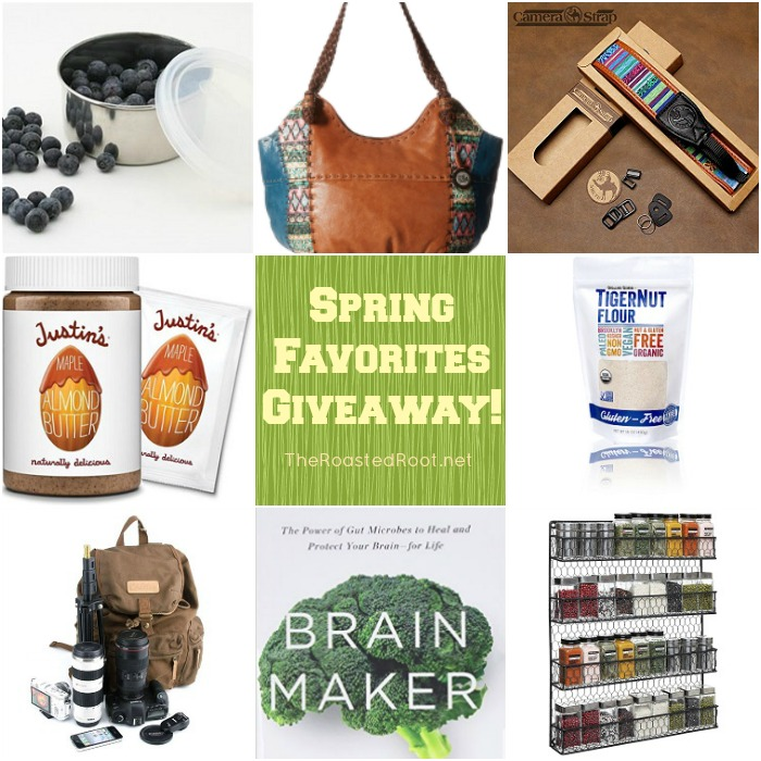 Spring Favorites + Giveaway at TheRoastedRoot.net