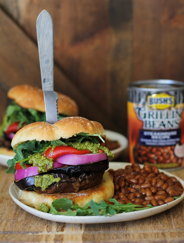 The Ultimate Grilled Portobello Burger - The Roasted Root
