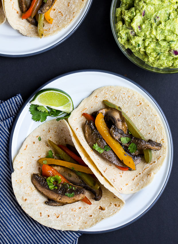 Portabella Mushroom Fajitas + 26 Recipes for a Vegetarian Cinco de Mayo