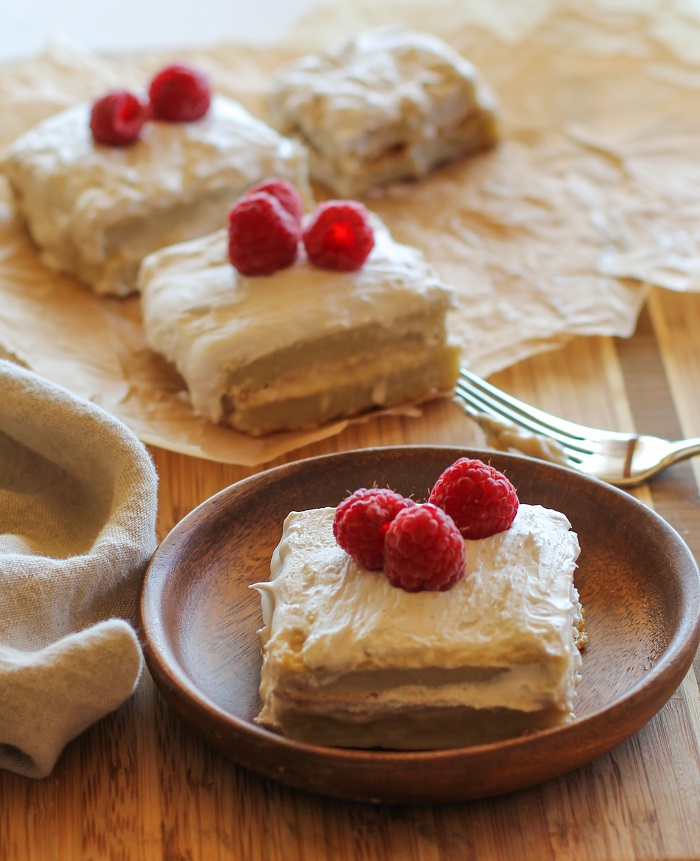 Paleo Tres Leches Cake - grain-free and naturally sweetened | TheRoastedRoot.net #healthy #dessert #recipe #glutenfree