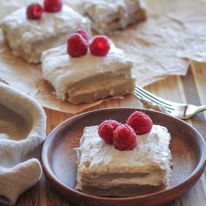 Paleo Tres Leches Cake - a grain-free take on the classic dessert!