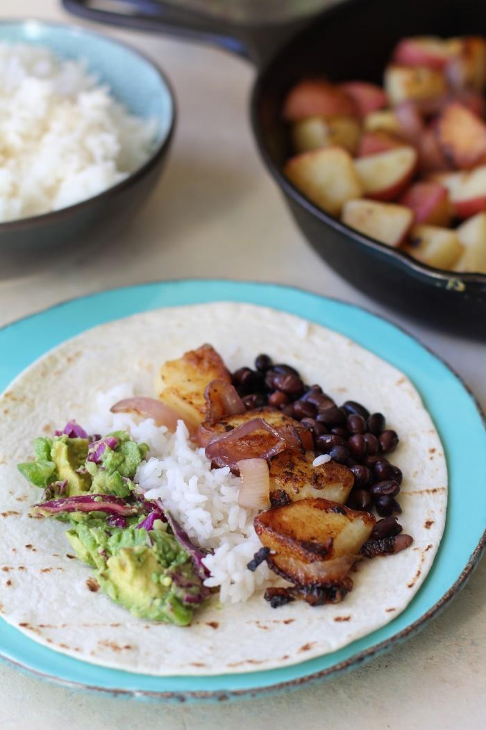 Vegan breakfast burritos cookbook review giveaway the minimalist bakers everyday cooking cookbook forumfinder Images