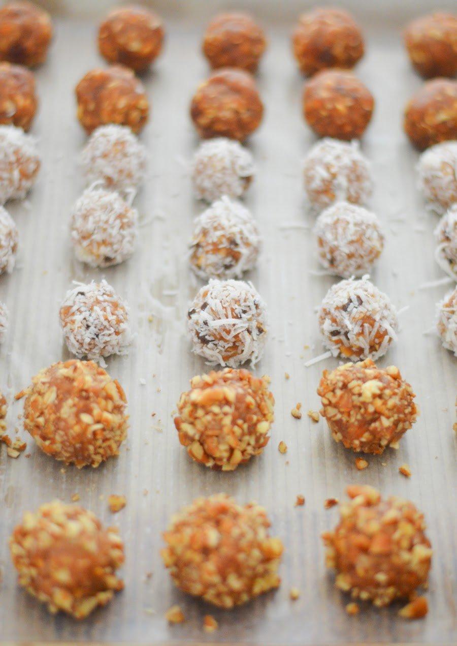 7-Ingredient Peanut Butter Balls - vegan, gluten free, and healthy
