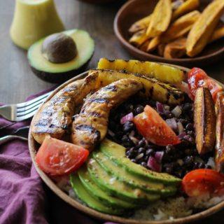 Grilled Cuban Mojo Chicken Bowls