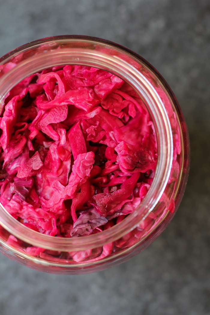 How to make Homemade Sauerkraut #recipe #tutorial #healthy #probiotics