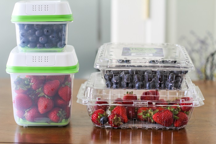 Rubbermaid FreshWorks Food Saver containers - review #productreview @rubbermaid