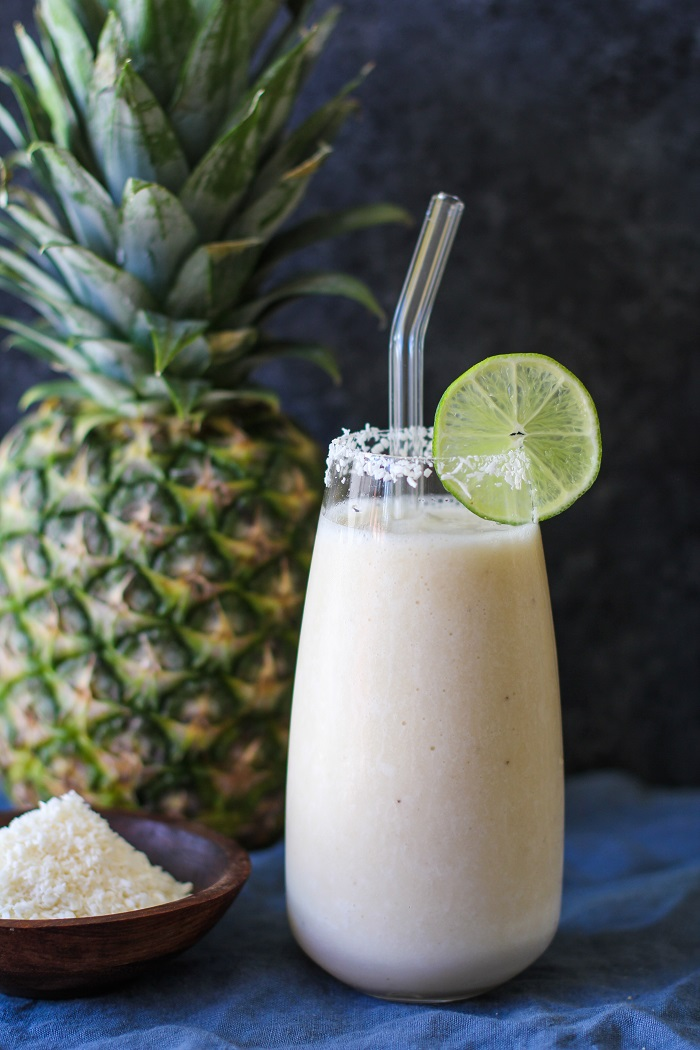 pi a colada smoothie two ways the roasted root. Black Bedroom Furniture Sets. Home Design Ideas