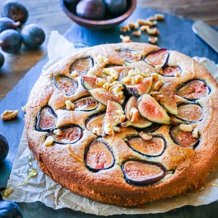 Almond Flour Fig Cake (Paleo)