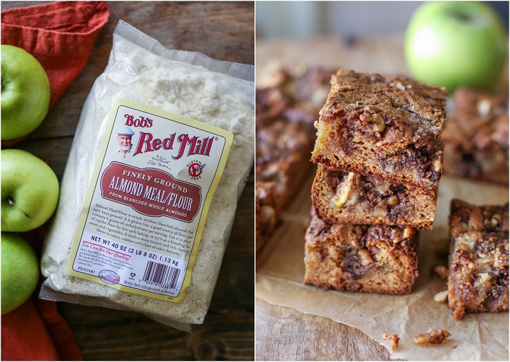 Apple Cinnamon Almond Flour Coffee Cake - grain-free, sugar-free, dairy-free, and paleo | TheRoastedRoot.net #healthy #dessert #breakfast #recipe #glutenfree