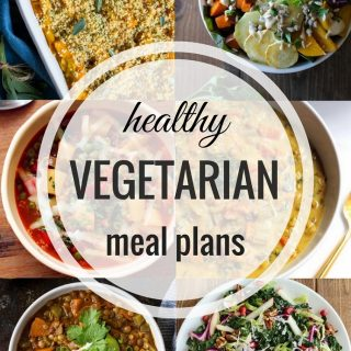 Healthy Vegetarian Meal Plan 11.13.2016