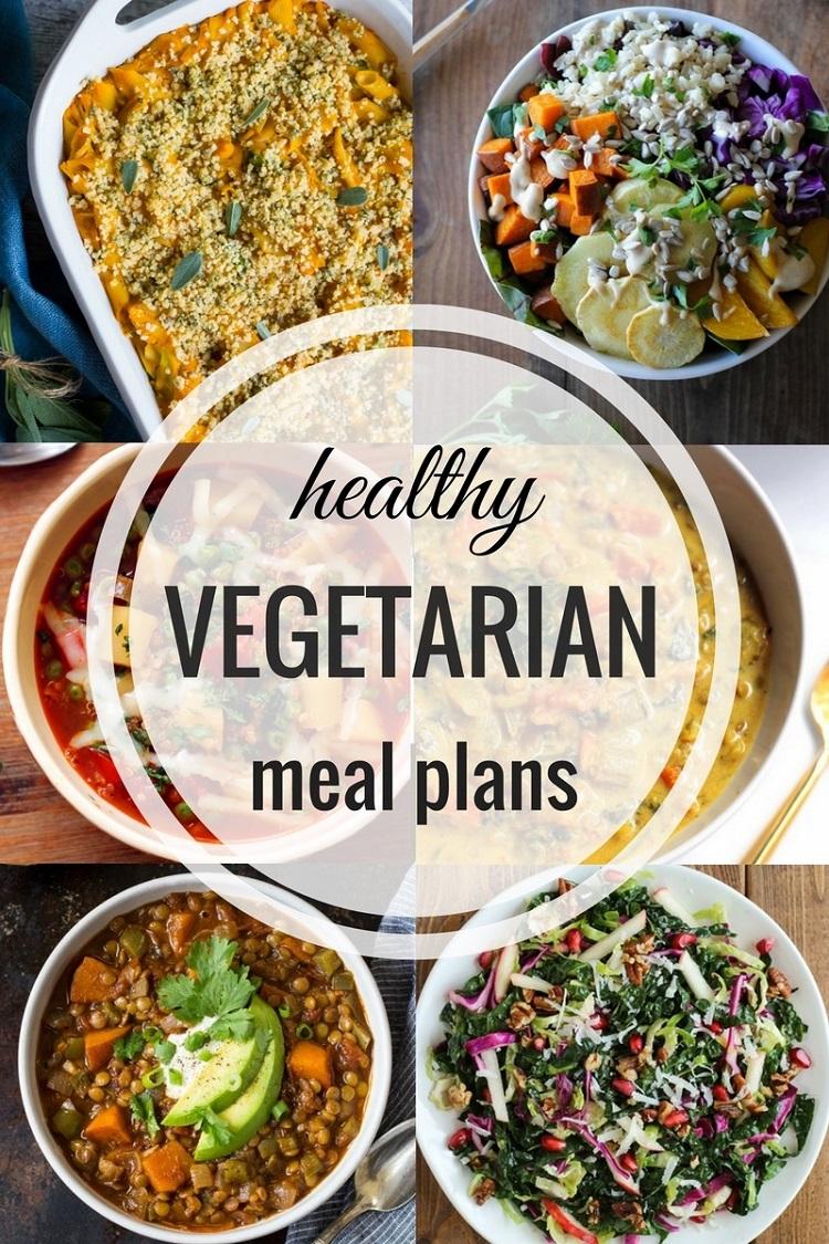 Healthy Vegetarian Meal Plan | TheRoastedRoot.net
