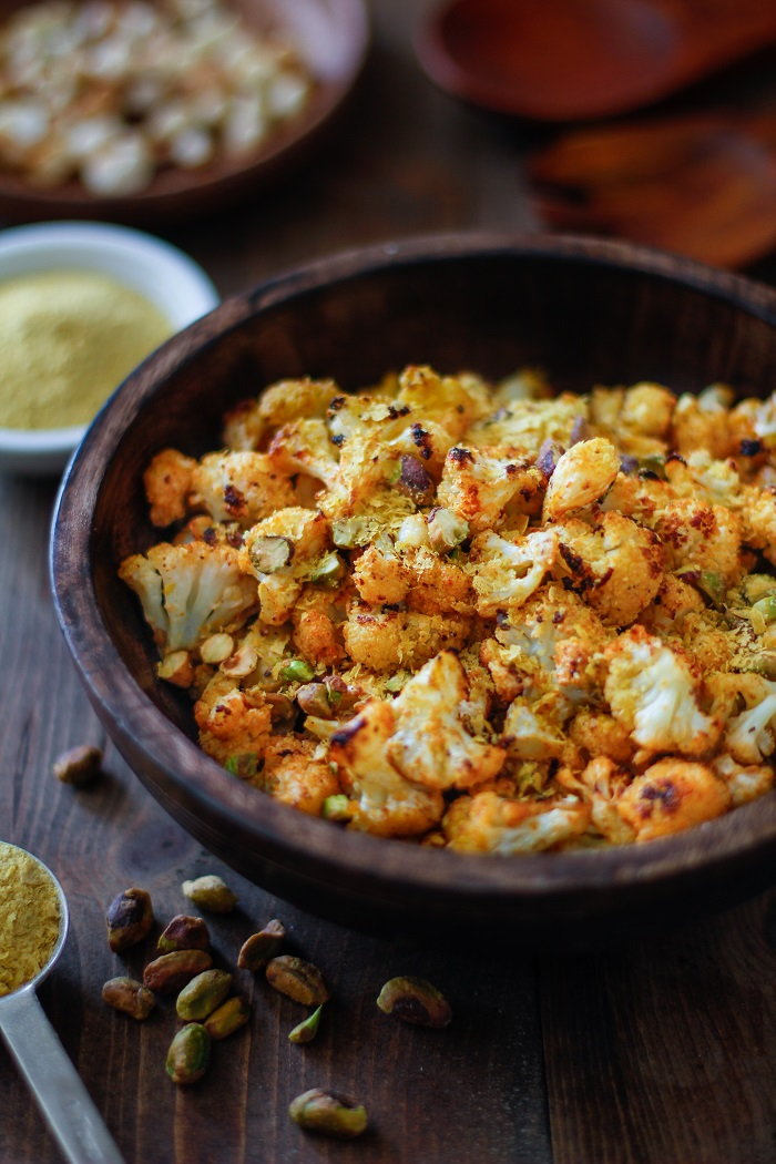 Quot Cheesy Quot Vegan Roasted Cauliflower The Roasted Root
