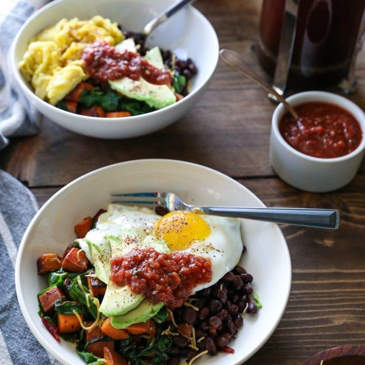How to Build the Ultimate Healthy Breakfast Bowls   TheRoastedRoot.net #healthy #breakfast #glutenfree