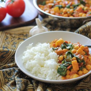 Quick and Easy Chana Saag
