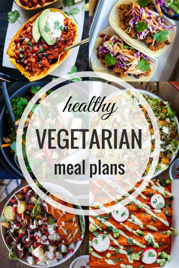 Healthy Vegetarian Meal Plan 01.01.17