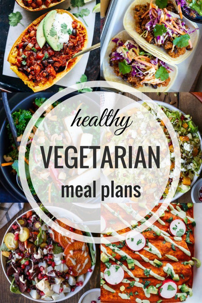 Healthy Vegetarian Meal Plan 01.01.17