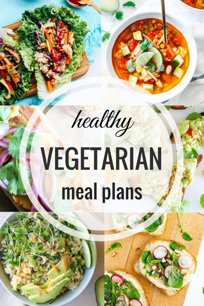 Healthy Vegetarian Meal Plan 05.07.2017
