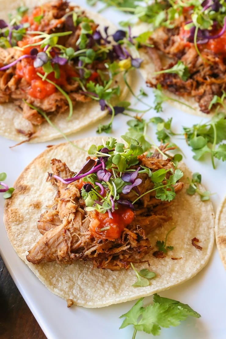 Crock Pot Barbacoa Beef using only 4 ingredients and about 10 minutes of prep