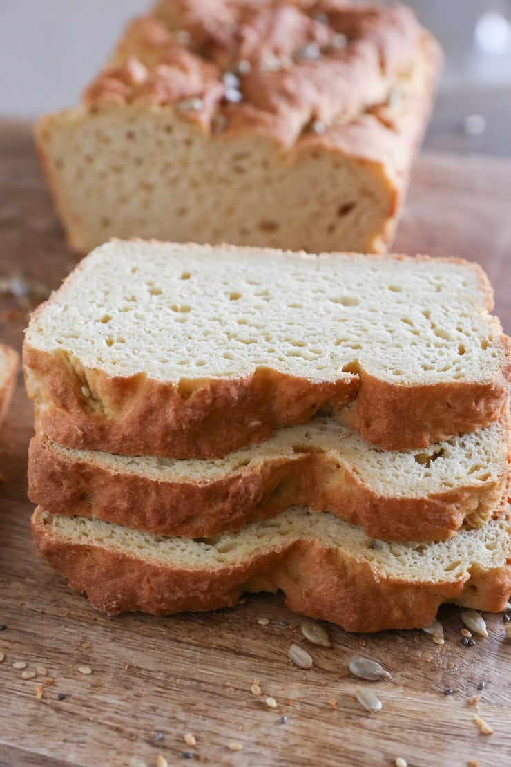 Easy Gluten-Free Sandwich Bread made with rice flour and millet flour