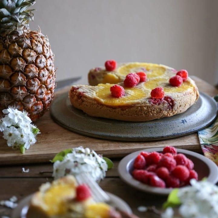 Grain-Free Pineapple Cake (Paleo)