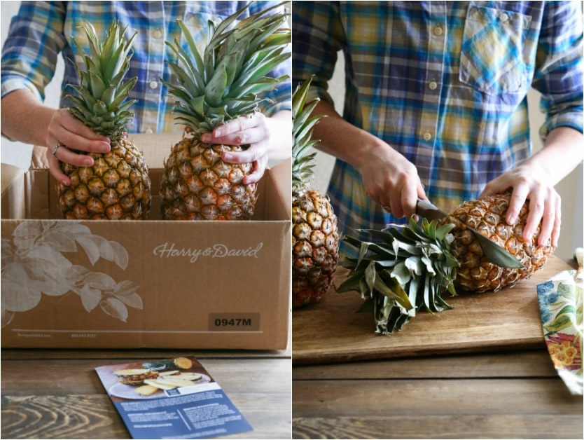 Ingredients for paleo pineapple cake