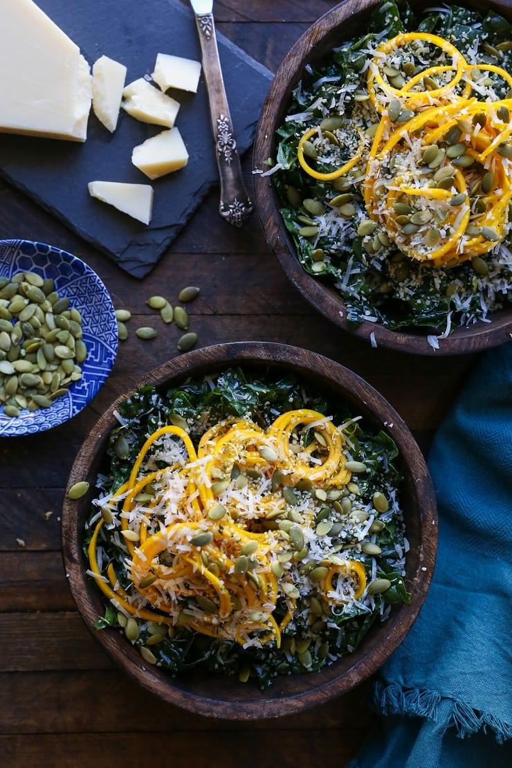 Golden Beet & Kale Salad