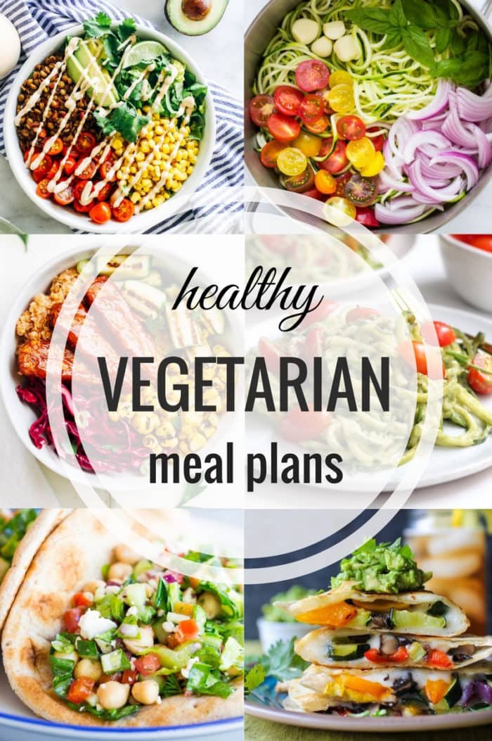 Healthy Vegetarian Meal Plan 06.04.2017 - The Roasted Root