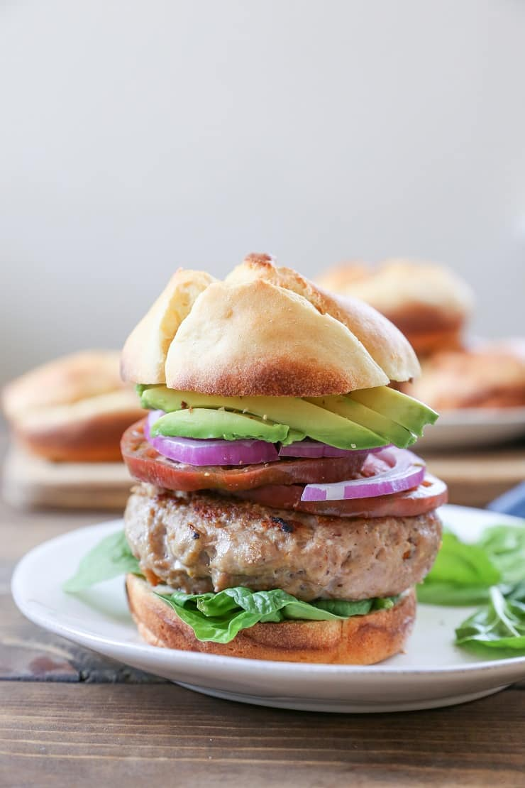 Gluten Free Hamburger Buns - soft, airy, tastes just like a potato bun!