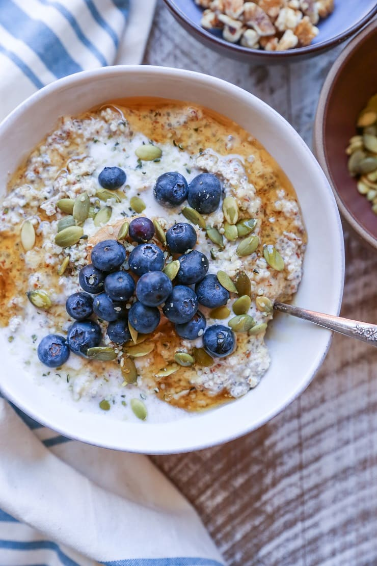 Nut and Seed Overnight N'Oatmeal