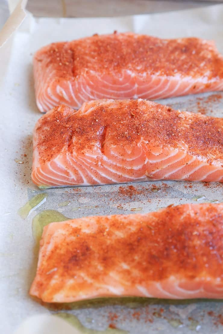 How to Make Crispy Salmon in the oven
